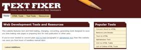 textfixer - Užitečné nástroje