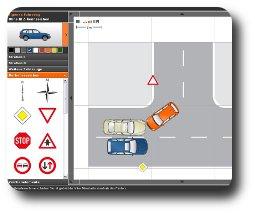 náčrtek dopravní nehody