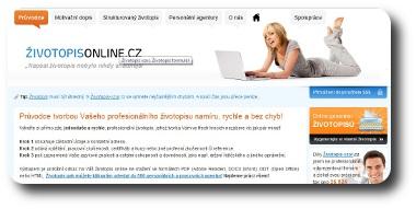 Vzor Zivotopisu Online Generator Na Strukturovany Zivotopis