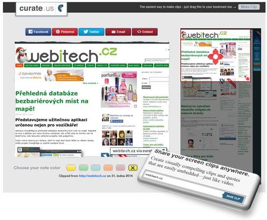 Jak vytvořit náhled webu?  Vytvoř screenshot a hned ho sdílej!