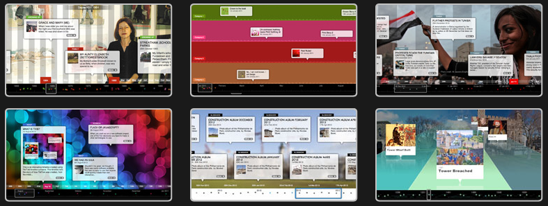 Interaktivní časová osa dodá více šťávy informacím #Webaplikace