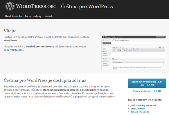 WordPress-home-lekce2