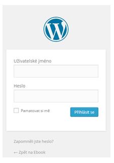 WordPress-login-lekce3