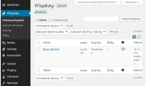 wordpress-prispevek