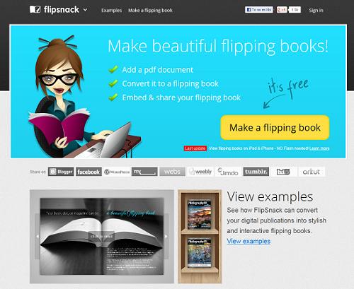 Jak vytvořit online knihu - FlipSnack